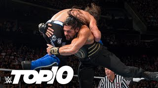 Roman Reigns' most devastating Spears: WWE Top 10, Oct. 14, 2020