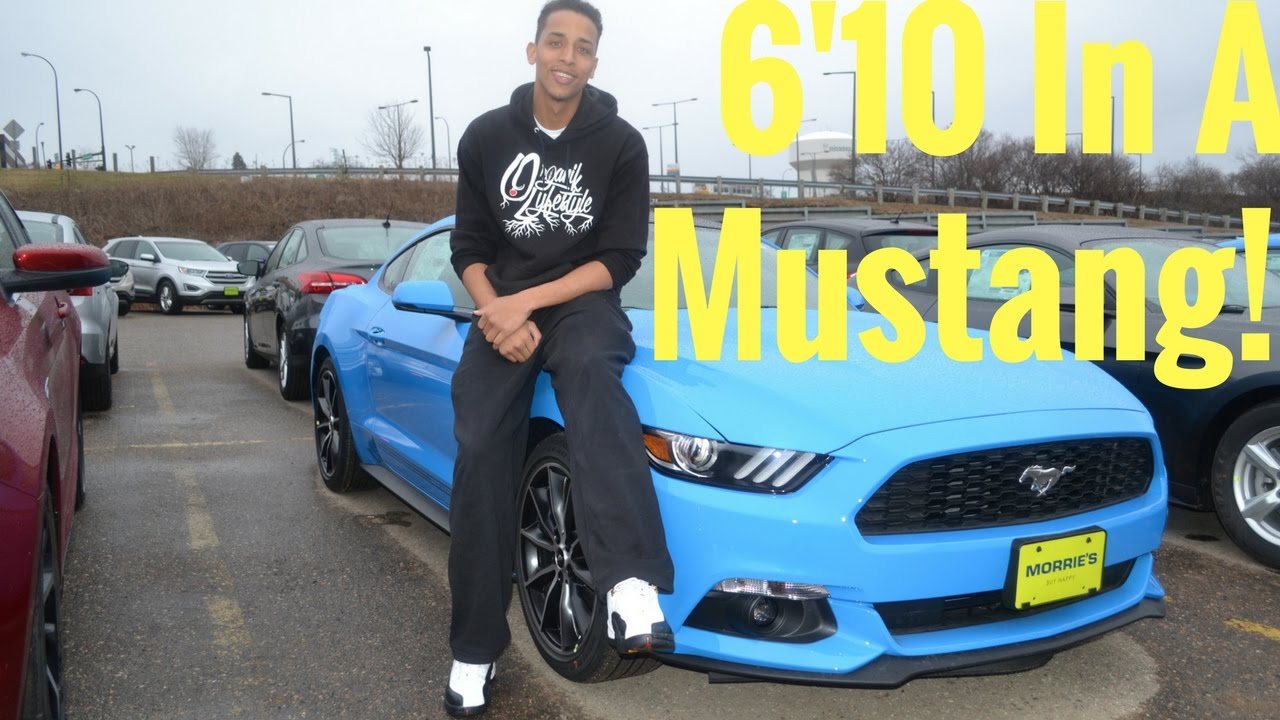 A tall guy in a mustang 2016 ford mustang review from a tall guys perspective