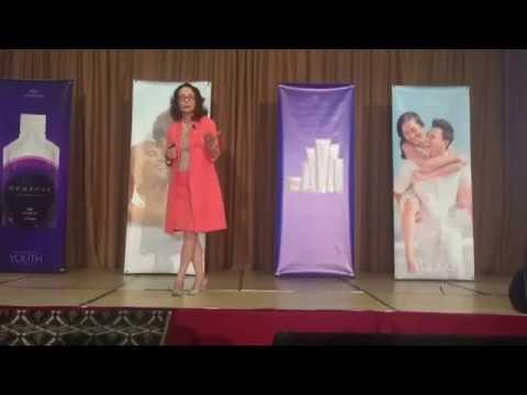 Prof.ssa Carolina Guerini - Network Marketing - Evento Jeunesse -  Roma Luglio 2016