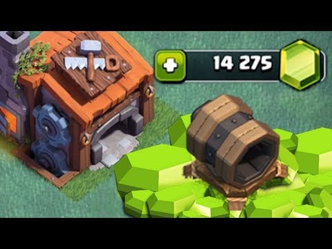 GEMMING THE GIANT CANNON BH 7 | Clash of Clans | Builder Hall 7 Update