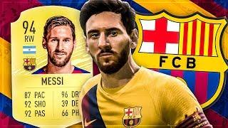 FIFA 20: MESSI Squad Builder Battle 🐐💥