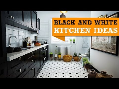 29+ Elegant Black And White Kitchen Design Ideas