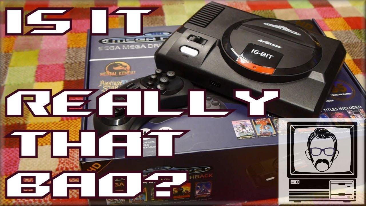At Games Sega Genesis Mega Drive Flashback Hd Nostalgia Nerd Youtube