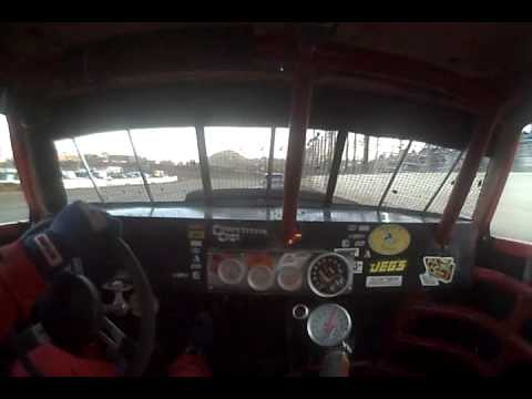 Jesse Gordon (04-04-09) Heat Race At Perris Auto Speedway  In-Car Camera View