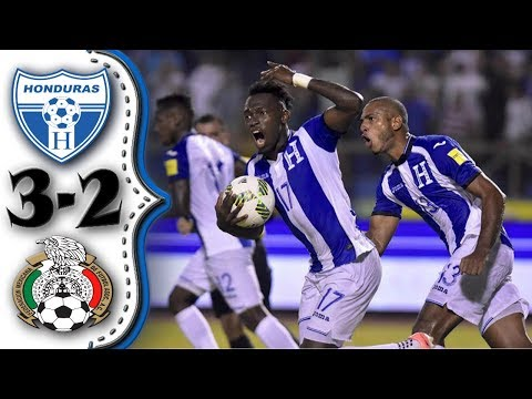 Honduras vs Mexico 3-2│Todos los Goles Resumen Completo HD│Eliminatorias Rusia 2018.