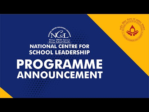 Programme Announcement