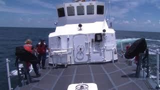 Coast Guard Cutter Manta Man Overboard Drill