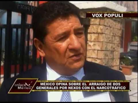 MÉXICO OPINA SOBRE LOS GENERALES DETENIDOS POR NEXOS CON EL NARCOTRÁFICO