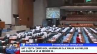 Nat'l Youth Commission, nanawagan sa kamara na pabilisin ang pagpasa sa SK Reform Bill