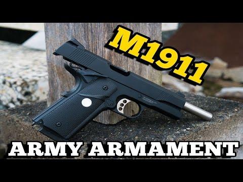 GÜNSTIGE PISTOLE Army Armament M1911 R27 GBB