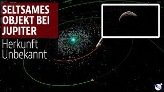 Seltsames Objekt bei Jupiter - Herkunft unbekannt