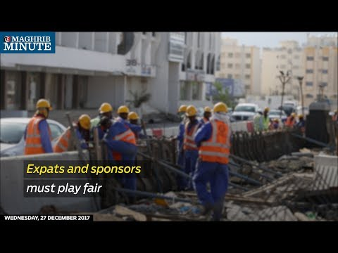 Expats and sponsors must play fair