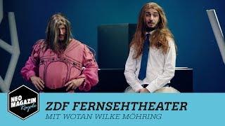 ZDF Fernsehtheater mit Wotan Wilke Möhring | NEO MAGAZIN ROYALE mit Jan Böhmermann - ZDFneo