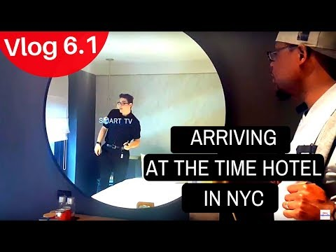 Traveling Wright Arriving In New York City. Tour Of The Time Hotel Room. Vlog 6.1