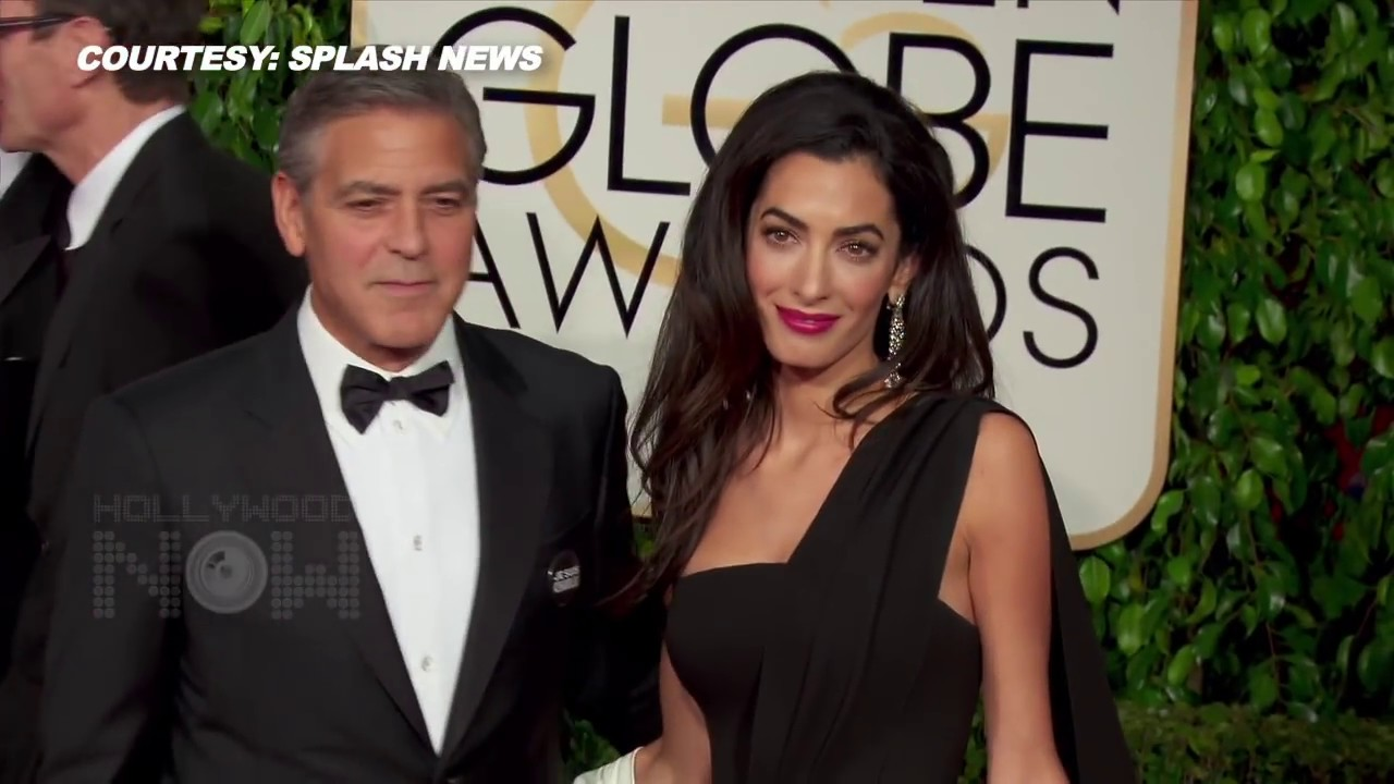 George And Amal Clooney Has Given Birth To TWINS Ella
