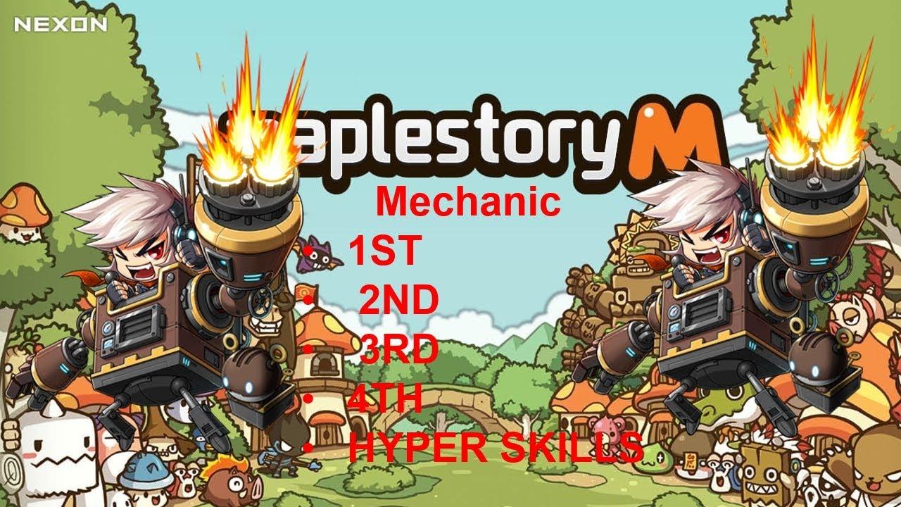 [MapleStory M - Korea ] Mechanic 1st, 2nd, 3rd, 4th, Hyper