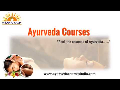 Ayurveda Certificate Course in India | Ayurvedic Panchakarma Therapy ...