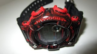 69c9441b47d G Shock GWF1000 Frogman red and black custom unboxing by TheDoktor210884