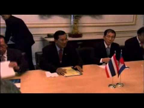 Bilateral Meeting Cambodia Thailand