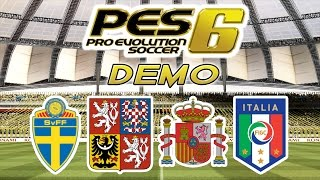 Pro Evolution Soccer 6 Demo!