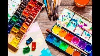 Рисуем акварелью член на а4 │ урок, мастер-класс, техника живописи, ню
