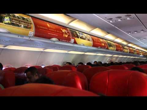 Thai Air Asia A320 Bangkok Donmuang To Singapore [AirClips Full Flight Series]