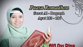 Download Alfi Nur Dina - QS Al Baqoroh Ayat 183-186