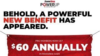Gamestop Changing Powerup Rewards Program