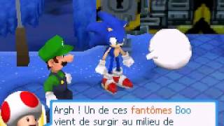 Mario & Sonic aux Jeux Olympiques d'hiver DS / At The Olympic Winter Games - Mini-jeu 1