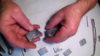 как сделать форму для литья картечи