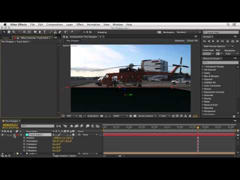 After Effects & Cinema 4D integration