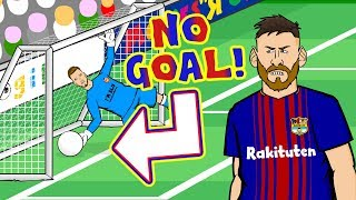 🤔MESSI - DISALLOWED GOAL CONSPIRACY!🤔(Parody Valencia vs Barcelona 1-1)