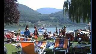 Urlaub in Südtirol 2009 - Badetag am Kalterer See