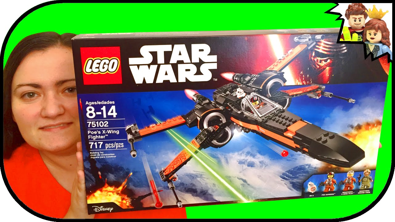 Brickqueen Wars Second Star Wing Review60 75102 Lego Build X Fighter Poe's wO8kZNXn0P