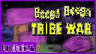 Booga Booga ~ PVP ~ TRIBE WAR and taking home the W (Roblox Booga Booga)