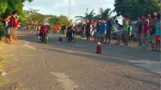150 RIDER MODIFIED Tutoy RJ of Balayan (red shirt) vsTeam from Calaca