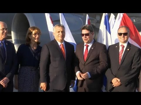 Viktor Orbán chega a Israel para visita de dois dias