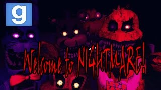 Веселье в Garry's mod: FNAF 4 В GMOD! Five Nights at Freddy's (Minecraft Style)
