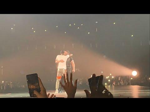 Drake brings out J Hus on his UK Tour - O2 London 5/4/19 - WELCOME HOME J HUS!!!
