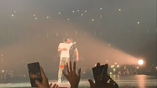 Drake brings out J Hus on his UK Tour - O2 London 5/4/19 - WELCOME HOME J HUS!!!