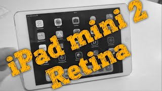 📱Планшет iPad mini 2 retina - Обзор в 2017 ios11