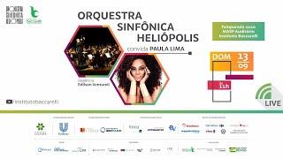 Live Orquestra Sinfônica Heliópolis convida Paula Lima  - Ao Vivo do MASP Auditório