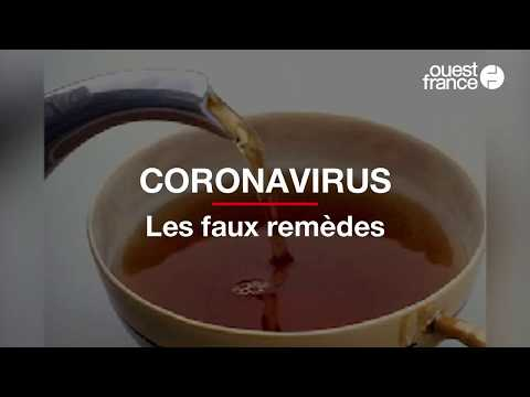 Les faux remèdes contre le coronavirus