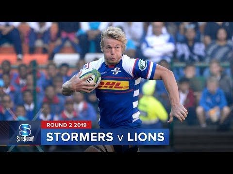 HIGHLIGHTS: 2019 Super Rugby Round 2 Stormers v Lions