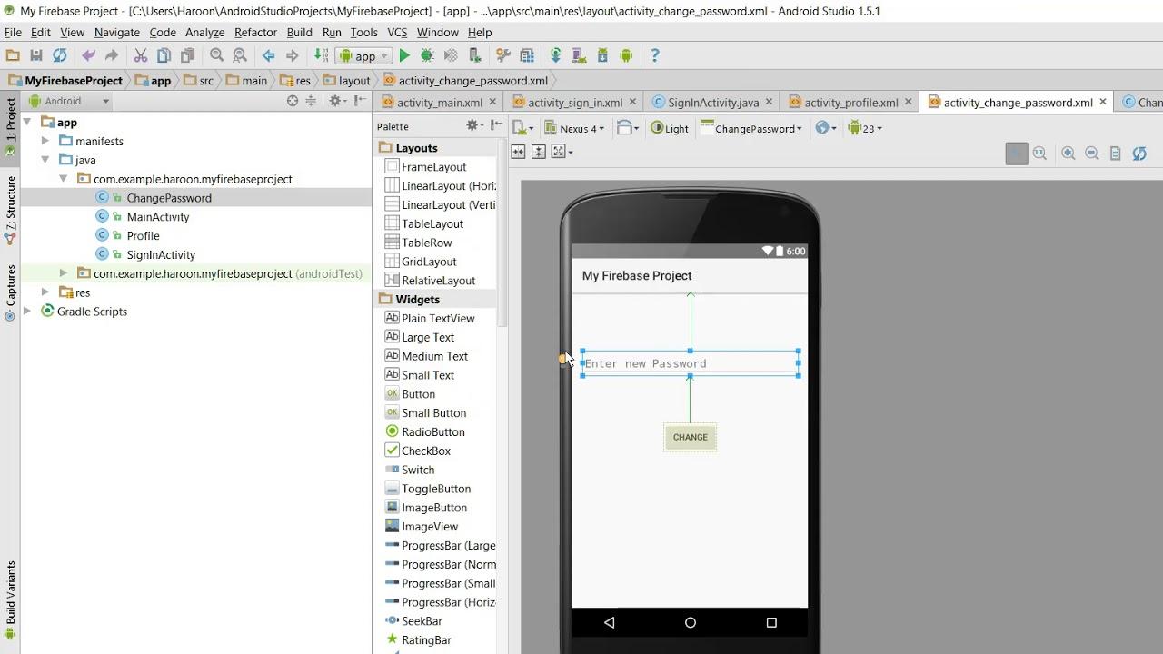 android studio delete project