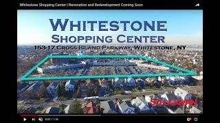 Whitestone Shopping Center | Renovation and Redevelopment Coming Soon