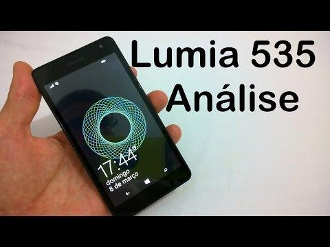Microsoft Lumia 535 Análise do Aparelho (Review BRASIL)