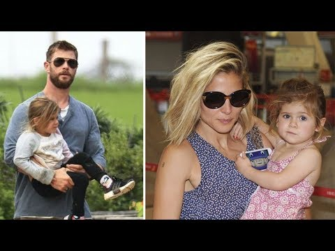 Chris Hemsworth & Elsa Pataky's Daughter India Hemsworth 2017