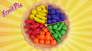 Best learning video for kids with super sorting pie