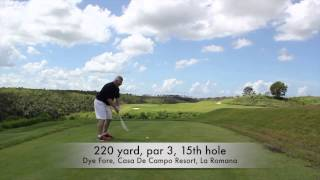 Dye Fore At Casa De Campo Resort